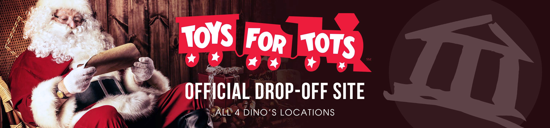 Toys4Tots Website Header
